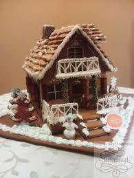 whimsical gingerbread carousel dessert gingerbread house