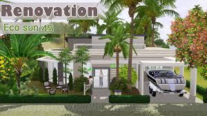 the sims 3 speed build house renovation eco sun 45 world