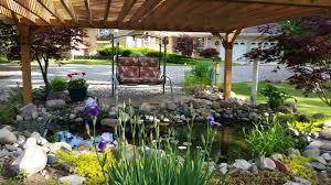 water saving yard designs pergola depot