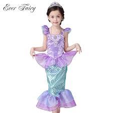 Baby Mermaid Halloween Costume Aliexpress Buy Fairy Children Baby Clothes