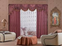 Living Room Curtain by Living Room Window Curtains Simplicity Creative Patterns Valances