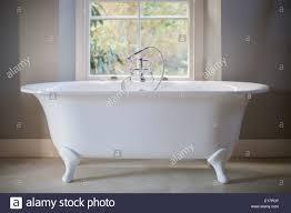 Claw Foot Bathtub Claw Foot Tub In Luxury Bathroom Stock Photo Royalty Free Image