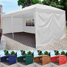 10 X 20 Shade Canopy by 10 U0027x10 U0027 Ez Pop Up Tent Gazebo Wedding Party Canopy Shelter