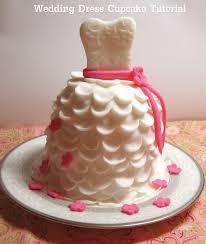 diy how to make beautiful wedding dress cupcakes with fondant