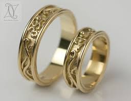 gold wedding rings handmade gold wedding rings for your special day
