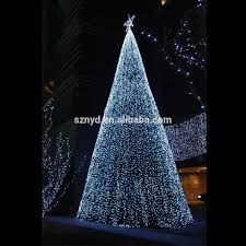 outdoor big pvc artificial giant christmas tree light outdoor big