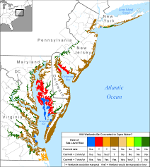 Florida Wetlands Map by More Sea Level Rise Maps
