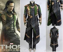 loki whole set costume for thor the dark world cosplay cosplay