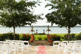 dallas wedding venues outdoor wedding venues dallas paradise cove grapevine