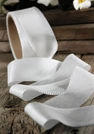 white silk ribbon ribbon silk ribbon felting and craft