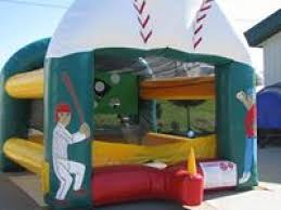 Backyard Bounce Inflatable Tee Ball Backyard Bounce