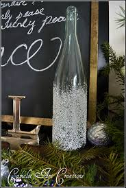 wine bottle christmas ideas 9 deck the halls diy ideas with wine bottles visitmo spotlight