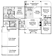 country style house plan 3 beds 2 50 baths 2021 sq ft plan 21 245