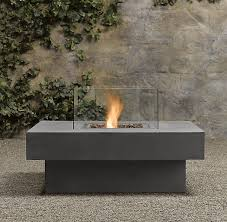 Laguna Concrete Propane Fire Table Square Gardens Patios