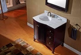 36 In Bathroom Vanity With Top by Virtu Usa 36 U2033 Khaleesi Round Sink Vanity In Espresso