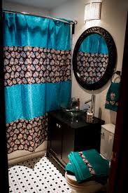 new custom bathroom decor shower curtain by emsblanketstatement new custom bathroom decor shower curtain bath towels hand towel skull sugar skull blue