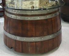 Wine Barrel Patio Table Wine Barrel Furniture Ebay