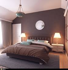 guest bedroom ideas plush guest bedroom design with brown wall