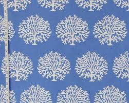 upholstery fabric patterned cotton favorite things coral cascade