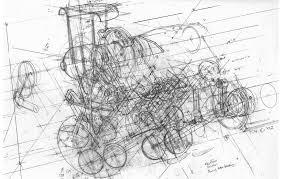 ferrari engine drawing drawings pinterest ferrari f1
