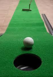 mini golf de bureau golf de bureau image stock image du bureau 3714837