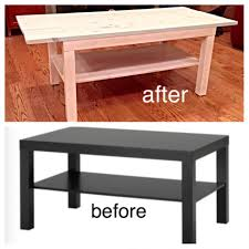 coffee table recycle your old college stuff ikea lack coffee table