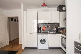 cuisine appartement parisien location studio avec accès handicapé terrasse et ascenseur 11