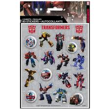 transformer party favors transformers stickers transformers party favors