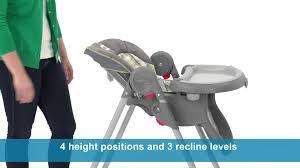 Graco High Chair 4 In 1 Graco Meal Time High Chair Youtube