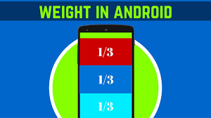 android layout weight attribute 19 how to use the weight attribute in android android app