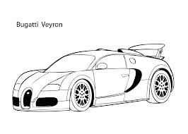 super car buggati veyron coloring page cool car printable free