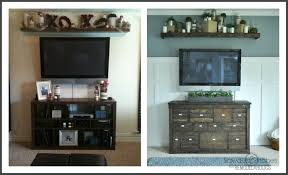 remodelaholic how to install a sliding tv platform