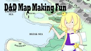 Dnd Maps Making My First Dnd Map Youtube