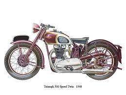 triumph 500 triumph 500 speedtwin 1948 jpg triumph t100 500