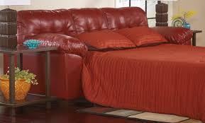 slipcovers for sofa sleepers buy ashley furniture 2010039 alliston durablend salsa queen sofa