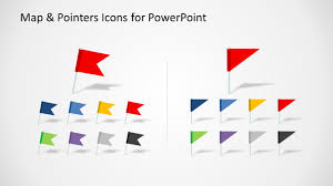 Map Marker Editable Map U0026 Pointers Icons For Powerpoint Slidemodel