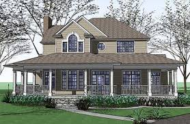 country farm house plans country farmhouse with wraparound porch 16805wg architectural