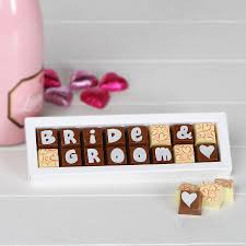 wedding chocolates personalised chocolates for weddings by chocolate by cocoapod