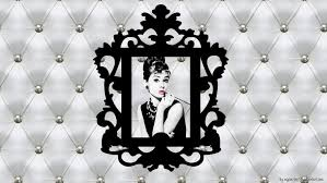audrey hepburn chic and baroque wallpaper by mllebarbie03 on