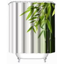 popular bathroom shower curtain bamboo buy cheap bathroom shower