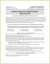 Food Industry Resume Examples by Amazing Culinary Resume Examples To Get You Hired Livecareer Food