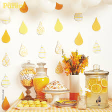yellow baby shower ideas baby shower ideas raindrop theme today s parent