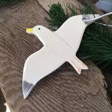seagull ornament cape cod ornament nautical ornament
