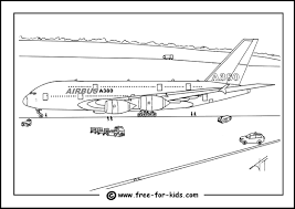 coloring excellent a380 coloring pages airplane a380