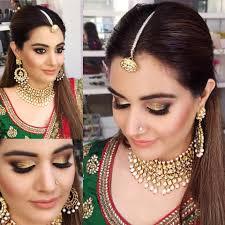artist in delhi pooja misha bridal makeup