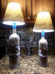 Lamps Made From Bottles Lamps Made From Grey Goose Bottles Diy Pallet Projects And
