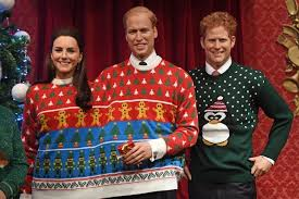 sweater for family madame tussauds decked out the royal family in
