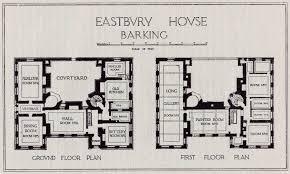 house plans historic eastbury house barking architectural floor plans