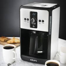Krups Sandwich Toaster Krups Savoy Turbo Stainless Steel Coffee Maker Sur La Table