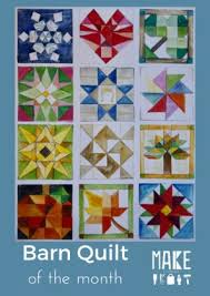 How To Paint A Barn Quilt Barn Quilt Of The Month Leaf Make Paducah